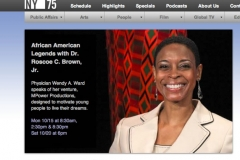 WA Ward MD on CUNY TV SHOW